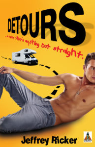 The cover of the novel Detours